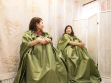 サロンド凜花(Beauty Salon Rinka)の雰囲気(身体の疲れを軽減!よもぎ蒸しのオススメ♪)