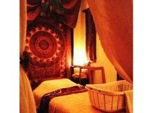 グランマのヒロット カマイの雰囲気(アジアン調でまとめた各部屋にテーマが異なる作りの個室)