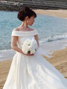 松山美容整体院の写真/自分史上最高の状態で幸せな結婚式を!ドレスの着こなしだけでなく,その後の「貴方」を考えた施術をご提供☆