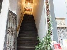 ナチュラルケア レクラン(Naturalcare L'ecrin)の雰囲気(階段を上がるとアロマの香り漂う空間でお待ちしています。)