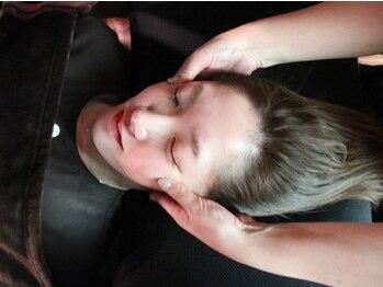 モァ爽々(More)の写真/【快眠ドライヘッドスパ】カッサを使用した独自技術★目や頭の緊張をときほぐす極上ヘッドスパをご堪能。