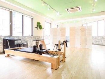 ピラティスグリーン 池袋店(Pilates Green)/リフォーマーマシン