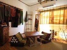 タイ古式緩体くつろぎの雰囲気(ホームサロンならではの【ゆったり感】でおくつろぎください。。)