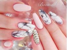 ボネール(nail & eyelash Bounail)/大理石