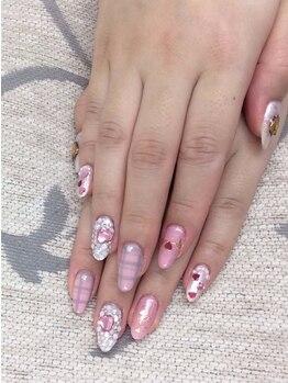 エムアイネイル(MI nail)/ジェルアートつけ放題¥9980