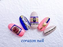 コラソンネイル(corazon nail)/HAND★120分やり放題コース