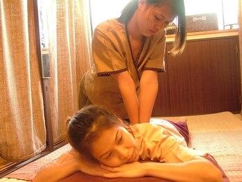 タイ古式マッサージアユタヤの写真/[実績15年超]口コミ高評価◆老舗タイ古式マッサージ店◆ベテランの施術でコリ固まった身体をじっくりほぐす