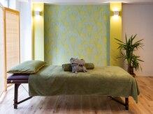 リラクゼーションサロン縁の雰囲気(個室なので周りを気にせずゆったりとした空間でお受け出来ます♪)