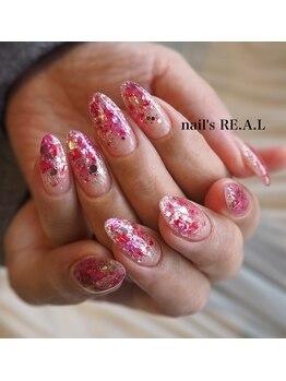 ネイルズリアル(nail's REAL)/押し花ネイル