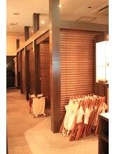 ルアンルアン ビーンズ赤羽店/ブラインドで仕切られた半個室♪