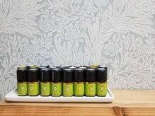 アロマサロン うるはの雰囲気(20種類以上あるアロマからお好みの癒される香りで施術します・・)