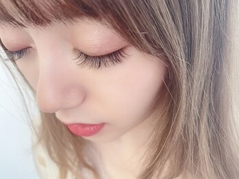クプアイラッシュ 新宿店(qup eyelash)/ニュアンスカラーでおしゃれに♪