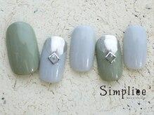シンプリーネイル 表参道店(Simpliee Nail)/定額ミラーネイル初回¥4990