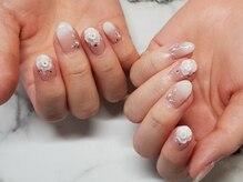ネイルサロンブラン(nail salon BLANC)/グラデーションブライダルネイル