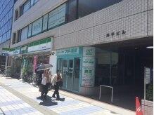 中央通を下ったファミリーマートのビル5Fです☆横が入口です!