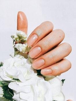 クチュリエール Couturie'reの写真/【ハンド,ネイルケアコース¥4400※ジェルオフ別¥3300】丁寧なハンドケアで自爪でも美しい手元に♪