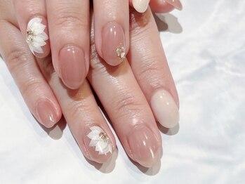 ルームヘアネイル 曙橋店(Room hair nail)の写真/《フィルイン技法》トレンドアートが得意で持込みデザインも大歓迎♪あなた好みのネイルをご提供!