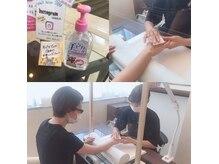 ソウ 難波店 nail salon Souの雰囲気(コロナ対策もしっかり対応中です♪)