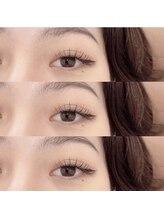 ルシエルアイラッシュ 薬院店(LuXiel eyelash)/フラットラッシュ100本