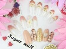 シュガー ネイル(Sugar nail)の雰囲気(ジェル+華やかアート10本6500円★(オフ込6980円))