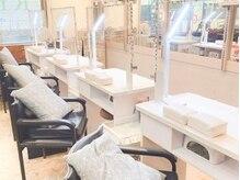 ネイルパティオ 松原店(nail Patio)の雰囲気(美容室に併設しております。ネイルブーム4席ご用意♪)
