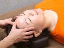 頭から足先まで◎首肩重点的に!ベテランスタッフの施術で日々の疲れをスッキリ解消!
