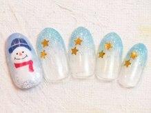 アミー(AMIE)/12月限定クリスマスNail ¥5940