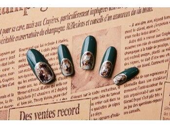 ルーヴル ネイルアンドアイラッシュ 生駒(LOUVRE nail&eyelash)/ディープネイル