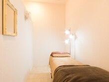 ラグゼ 高林店(Luxxe)の雰囲気(【まつ毛ブース】リラックスできるベッド個室でゆったり施術★)