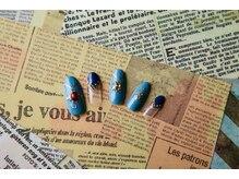 ルーヴル ネイルアンドアイラッシュ 生駒(LOUVRE nail&eyelash)/オータムエスニックネイル