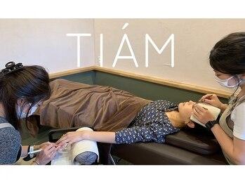 ティアム(TIAM)の写真/ネイルとマツエク同時施術で時間短縮に☆忙しくてもキレイでいたいあなたのために…お出かけ前にも♪