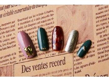 ルーヴル ネイルアンドアイラッシュ 生駒(LOUVRE nail&eyelash)/こっくりカラー