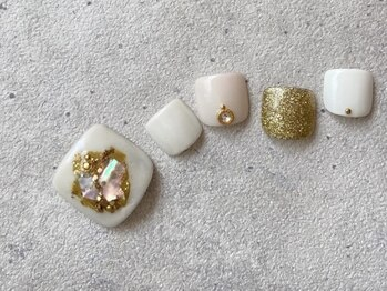 リーチェ ビューティアンドネイルサロン 大名店(Beauty&Nail Salon)/summer foot design