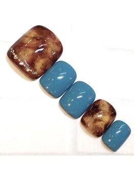 ライト ネイルズ ニシノミヤ(light nails NISHINOMIYA)/フットキャンペーン☆¥7150