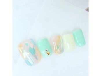 ネイルスペース ヴィタリテ(nail space Vitalite')/7月フットジェル¥6900