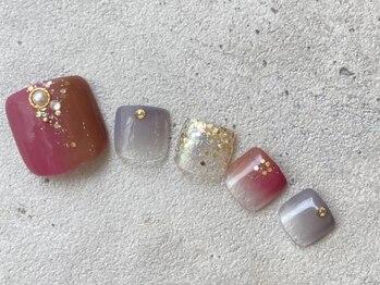 リーチェ ビューティアンドネイルサロン 大名店(Beauty&Nail Salon)/nuance foot design