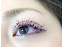 アラモード アイラッシュ(a la mode eyelash)の雰囲気(カラーエクステ)