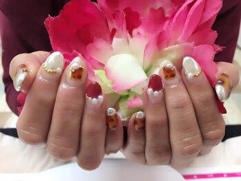 ネイルサロンカリプソ(Nail Salon Calypso 2)/バルーンフレンチネイル☆