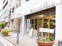 【必読】当店ビル入口1階がドッグショップ。中村川沿いです。
