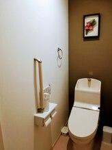 サン アーユス 千葉本店(Sun Ayus)/清潔なトイレは店のバロメータ