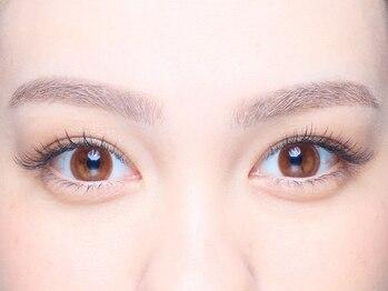 アイズプロフェッショナル(eyes professional)の写真/眉で決まるお顔の印象◆本当の魅力を引き出す7ステップでお仕上げ♪まつ毛メニューとSETが人気です!