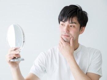 ロロ(LOL)の写真/【MEN'S 脱毛】お顔全体(髭脱毛)初回¥3900!痛みの少ない脱毛を完全個室で☆手頃価格で受けられます!