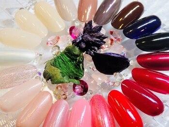 ネイル ミミューの写真/【自爪を健康に美しく☆美爪ケア&マニキュアカラーリングコース¥4400→¥3520】定期的なケアで綺麗な指先へ