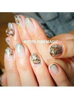 ピンクマジック(PINKMAGIC)/大人シックな秋ネイル