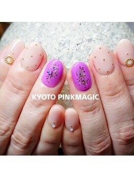 ピンクマジック(PINKMAGIC)/ちょこっと秋ネイル