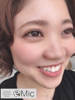 マツエクサロン ミック 下通り店(Mic)/短めエクステでもパッチリ☆彡
