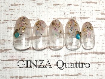 ギンザ クワトロ(GINZA Quattro)/定額/LuxuryB 7500円/ホワイト