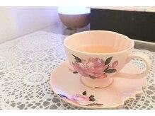 アミナスエステティックサロン (AMINAS)/身体にいいのお花茶用意します