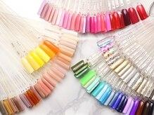 カラーの豊富さ◎あなたの気に入る絶妙な色がきっと見つかる!
