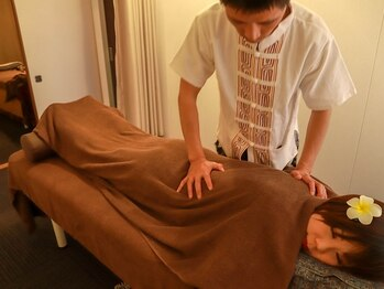 サバイ サバイ(SABAI SABAI)の写真/【首・肩の辛さに悩まれている方☆】お仕事や日常生活で固まった首・肩こりをもみほぐしによって改善促進!